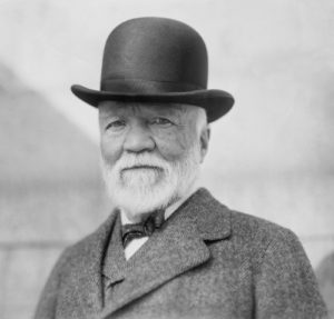 Andrew Carnegie had his own ideas about phiilanthropy's role in society